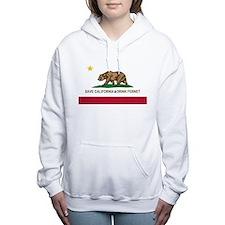 California-Drink Fernet Women's Hooded Sweatshirt