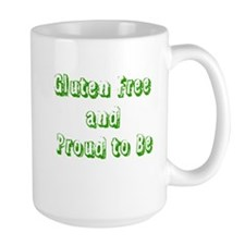 Gluten Free and Proud to Be Mugs