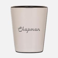 Chapman surname classic design Shot Glass