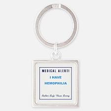 HEMOPHILIA Square Keychain