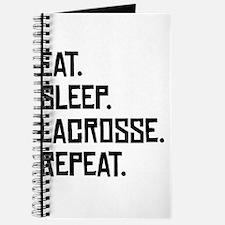 Eat Sleep Lacrosse Repeat Journal