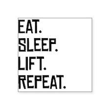 Eat Sleep Lift Repeat Sticker