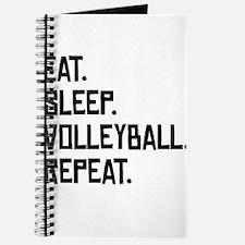 Eat Sleep Volleyball Repeat Journal