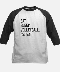 Eat Sleep Volleyball Repeat Baseball Jersey