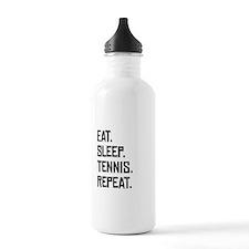 Eat Sleep Tennis Repeat Water Bottle