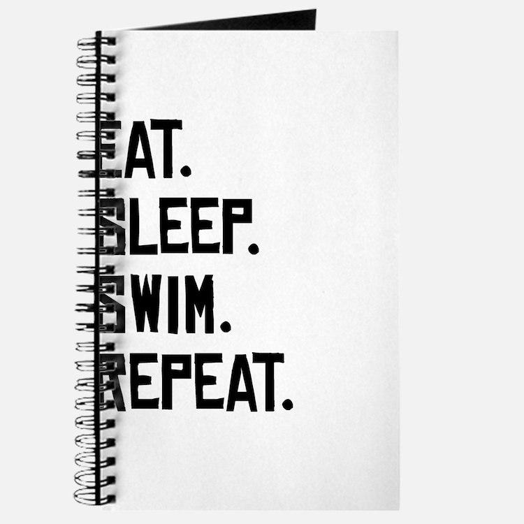 Eat Sleep Swim Repeat Journal