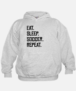 Eat Sleep Soccer Repeat Hoodie