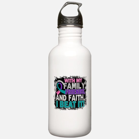 Thyroid Cancer Survivo Water Bottle