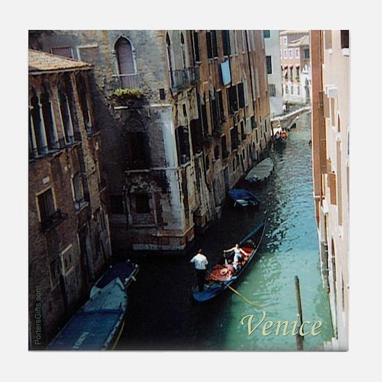 Italy Tile Coaster: Venice