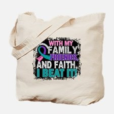 Thyroid Cancer Survivor FamilyFriendsFait Tote Bag