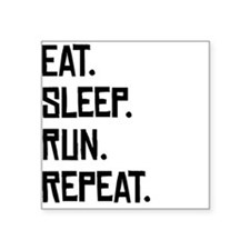Eat Sleep Run Repeat Sticker