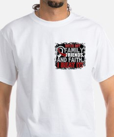 Throat Cancer Survivor FamilyFriends Shirt
