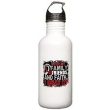 Throat Cancer Survivor Water Bottle