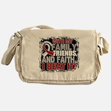 Throat Cancer Survivor FamilyFriends Messenger Bag