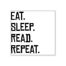Eat Sleep Read Repeat Sticker