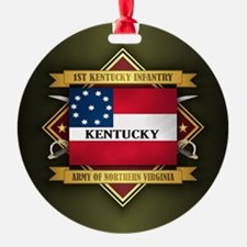 1st Kentucky Infantry Ornament