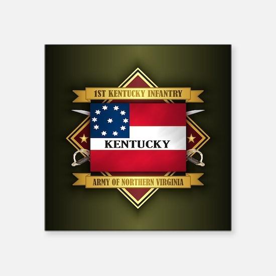 1st Kentucky Infantry Sticker