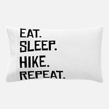 Eat Sleep Hike Repeat Pillow Case