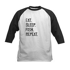 Eat Sleep Fish Repeat Baseball Jersey