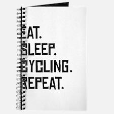 Eat Sleep Cycling Repeat Journal