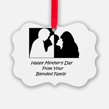 Happy Mothers Day From Blended Family Ornament