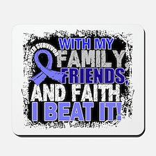 Prostate Cancer Survivor FamilyFriendsFa Mousepad