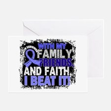 Prostate Cancer Survivor FamilyFrien Greeting Card