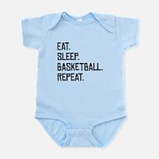 Eat Sleep Basketball Repeat Body Suit