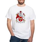 Wadsworth Family Crest White T-Shirt