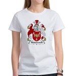 Wadsworth Family Crest Women's T-Shirt