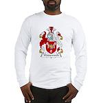 Wadsworth Family Crest Long Sleeve T-Shirt