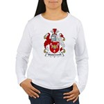 Wadsworth Family Crest Women's Long Sleeve T-Shirt