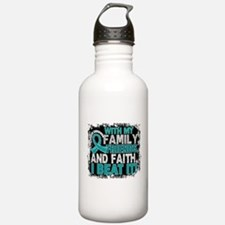 Ovarian Cancer Survivo Sports Water Bottle