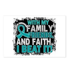 Ovarian Cancer Survivor F Postcards (Package of 8)