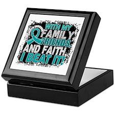 Ovarian Cancer Survivor FamilyFriends Keepsake Box