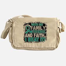 Ovarian Cancer Survivor FamilyFriend Messenger Bag