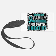 Ovarian Cancer Survivor FamilyFr Luggage Tag