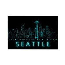 Digital Seattle Magnets