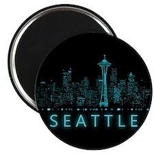 Digital Seattle Magnets