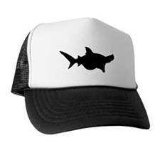 Shark Silhouette Trucker Hat