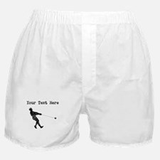 Distressed Hammer Throw Silhouette (Custom) Boxer