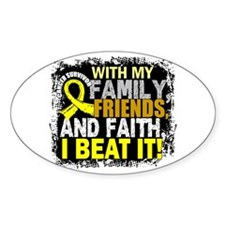 Osteosarcoma Survivor FamilyFriends Decal