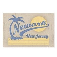 Newark NJ Luau Postcards (Package of 8)