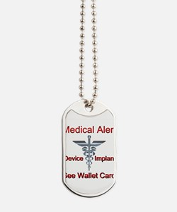 Medical Alert Device Implant See Wallet C Dog Tags