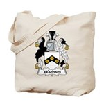 Wadham Family Crest Tote Bag