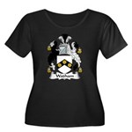 Wadham Family Crest Women's Plus Size Scoop Neck D