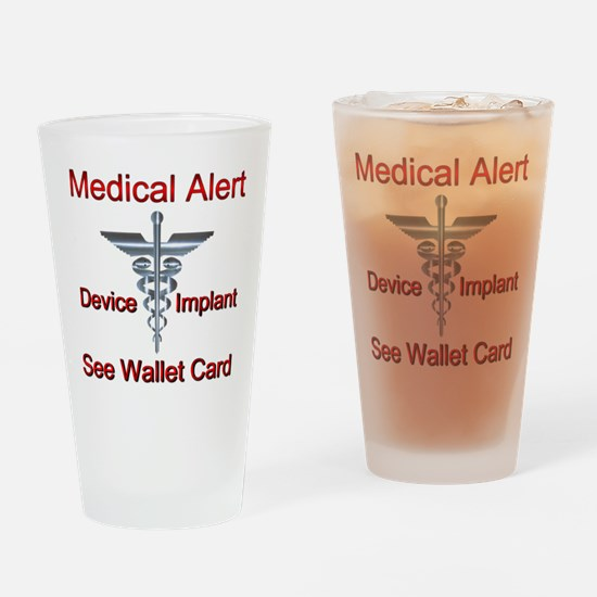 Medical Alert Device Implant See Wa Drinking Glass