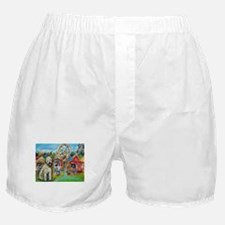 Wheaton terrier Boxer Shorts