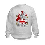 Waddington Family Crest Kids Sweatshirt