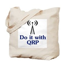 Do It With QRP, Tote Bag